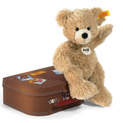Ours Teddy Fynn et sa valise - Steiff