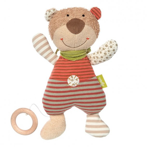 Ours Peluche Musicale Bio - Sigikid