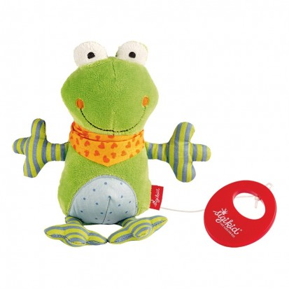 Grenouille Peluche Musicale