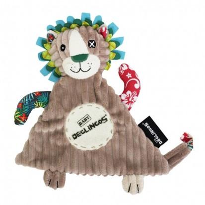 Doudou Baby Jélékros Le Lion
