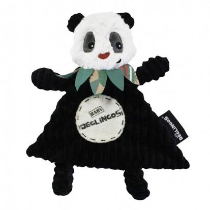 Doudou Baby Rototos Le Panda - Les Déglingos