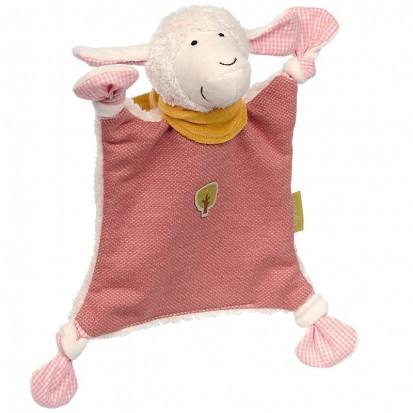 En savoir plus sur Doudou Mouton Rose Bio