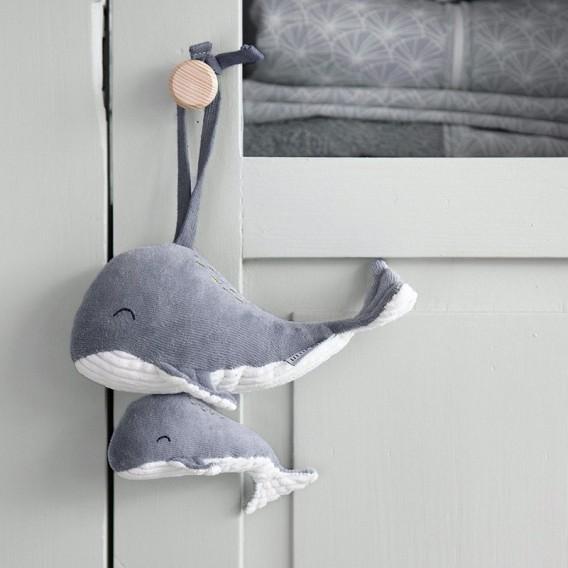 Baleine Musicale Ocean Blue - Little Dutch