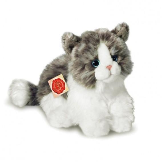 Petit Chat Gris Mimi - Teddy Hermann