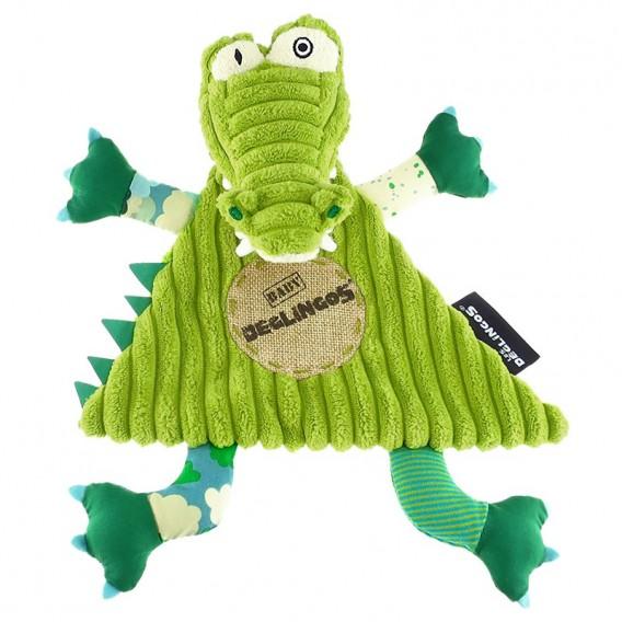 Doudou Baby Aligatos L'Alligator - Les Déglingos