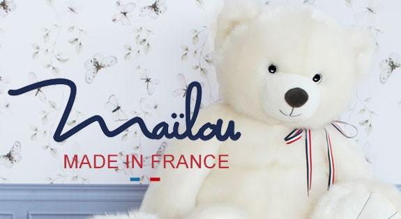 Peluches Françaises Maïlou Tradition